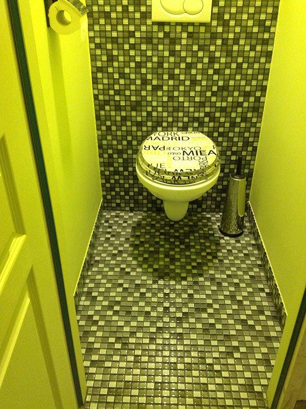 Peinture toilettes meilleures images d 39 inspiration pour - Peinture dans les toilettes ...