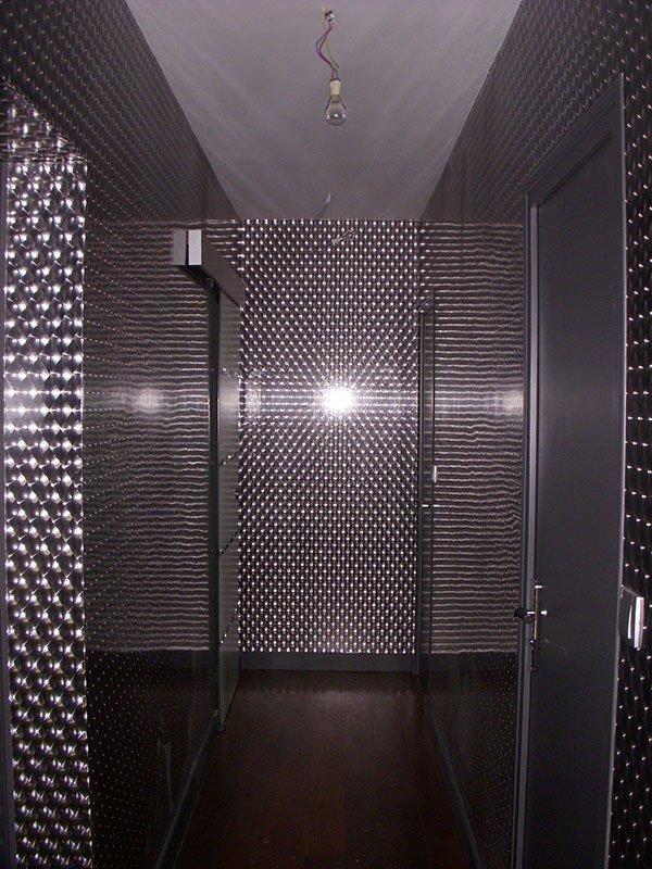 Couloir tapisserie