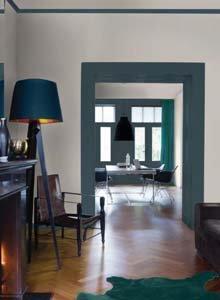 Idées peinture pour vos murs - Le vert bouteille
