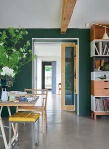 Idées peinture pour vos murs - Le vert végétal