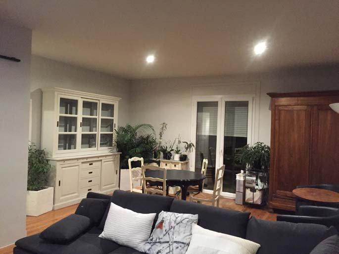 R novation de l 39 int rieur d 39 un appartement valence lr for Appartement decoration platre