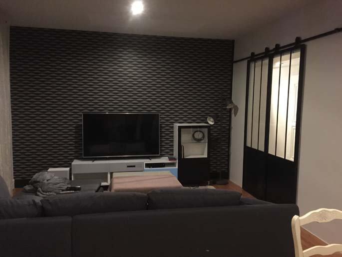 r novation de l 39 int rieur d 39 un appartement valence lr peinture. Black Bedroom Furniture Sets. Home Design Ideas