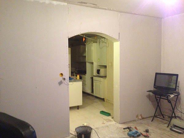 Rénovation salon avant