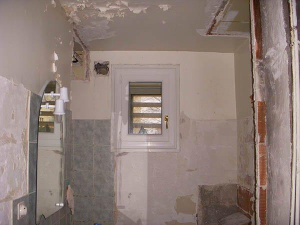 Rénovation salle de bain avant