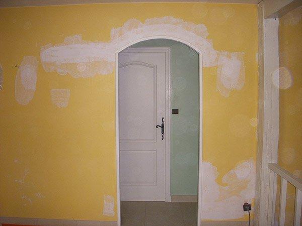 Peinture avant